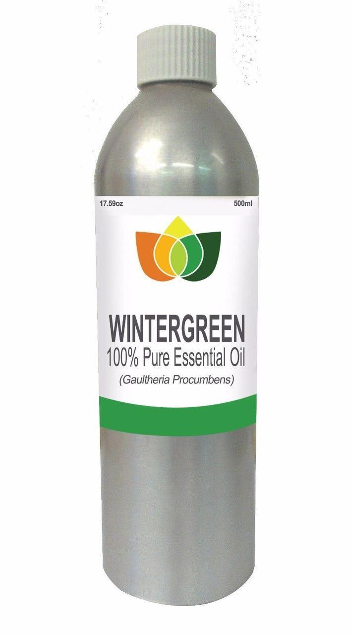 Wintergreen Essential Oil Pure, Natural, Vegan Gaultheria Procumbens