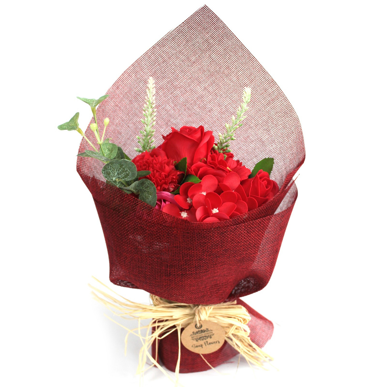 SOAP FLOWER BOUQUETS (Choose From 4 Colours) Buy 2 or More Save 10%