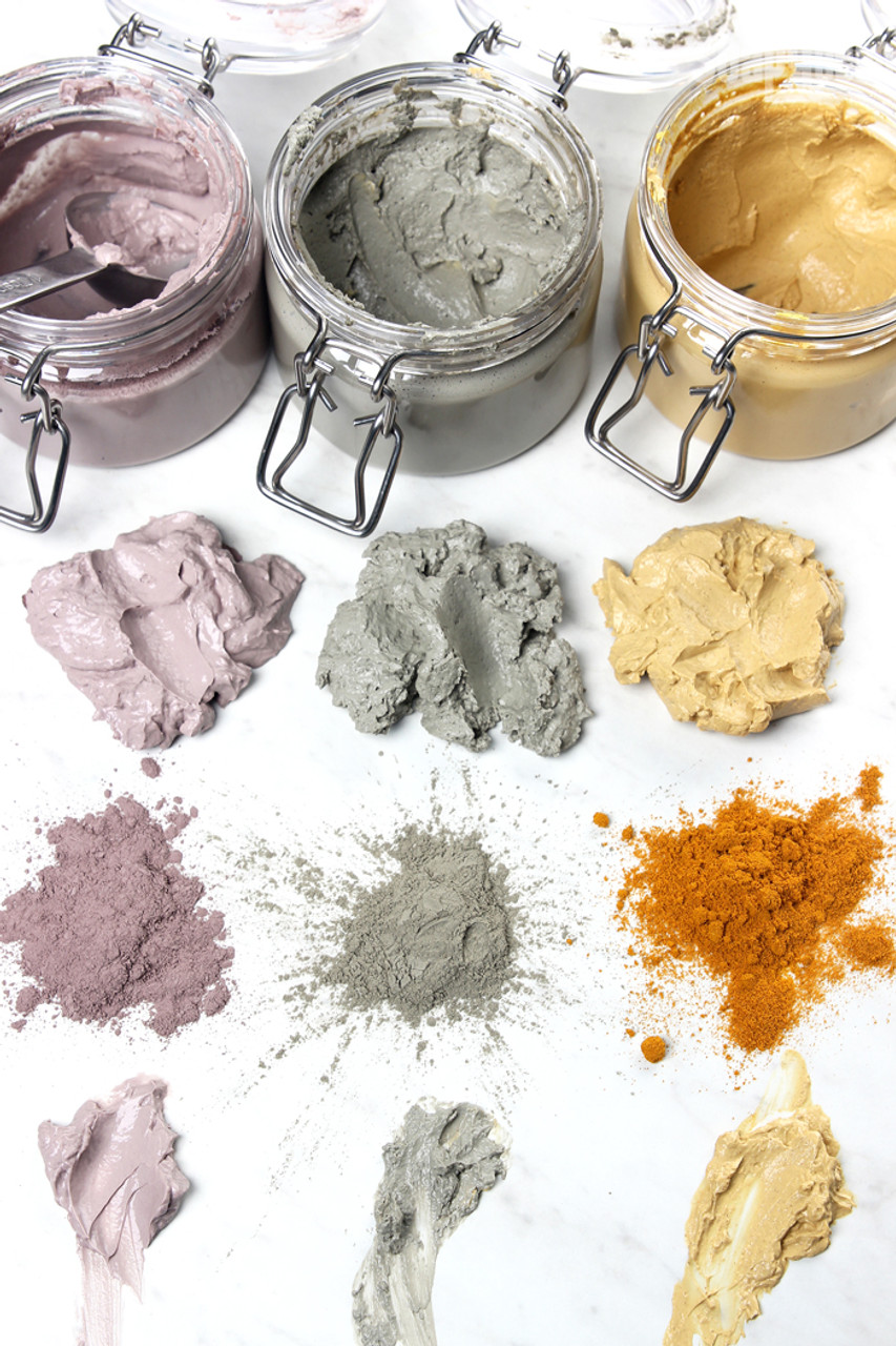 FACE MASK FULLER EARTH CLAY POWDER. Oil Absorbing for Normal & Sensitive Skin