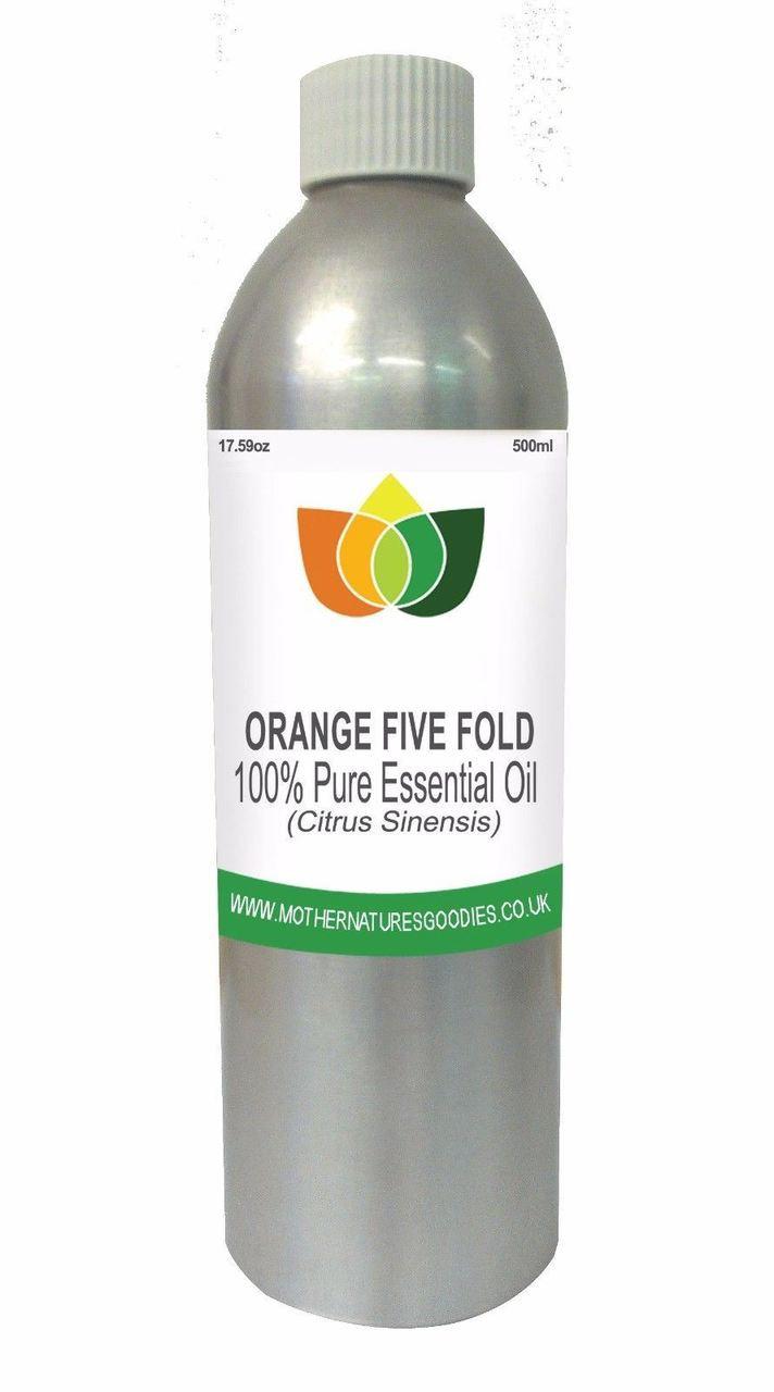 Orange Five Fold Essential Oil Variations
