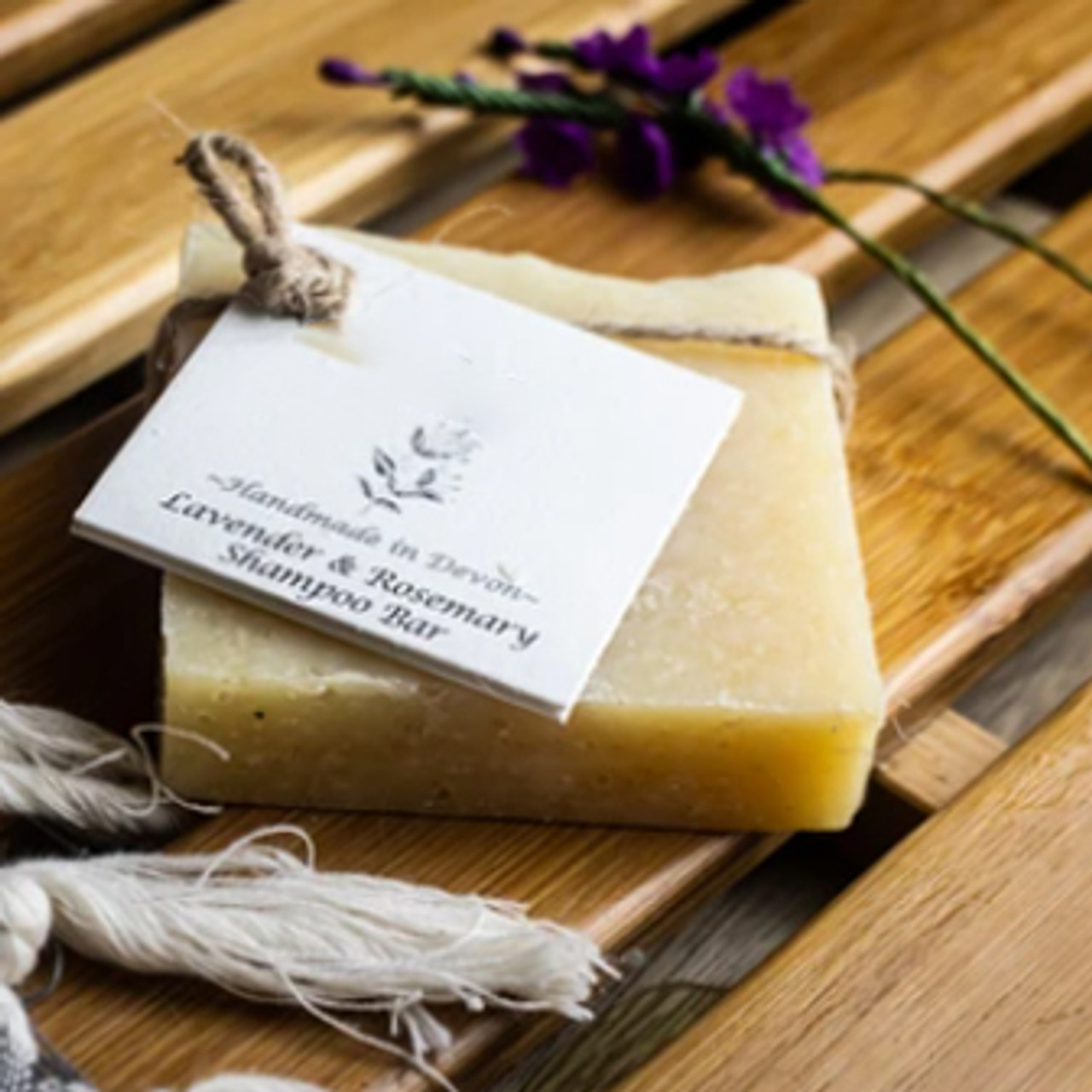 Lavender & Rosemary Natural Solid Shampoo for All Hair types.