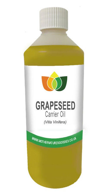 Grapeseed Oil Cosmetic & Food Grade, Refined, Natural Base Carrier Massage Oil