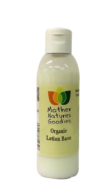 ORGANIC BODY LOTION Fragrance Free Base - Paraben Free Moisturiser