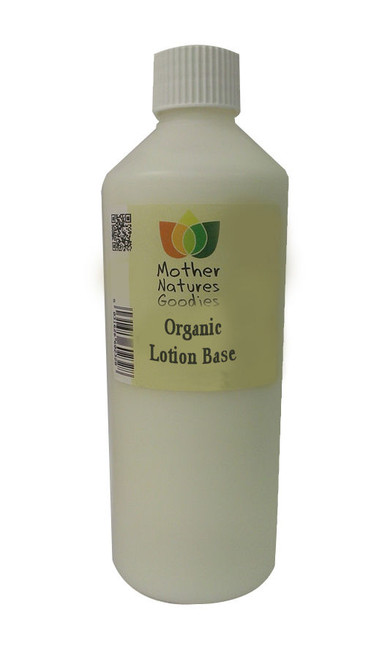 ORGANIC BODY LOTION Fragrance Free Base - Paraben Free Moisturiser