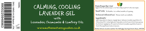 CALMING COOLING LAVENDER GEL 100ML