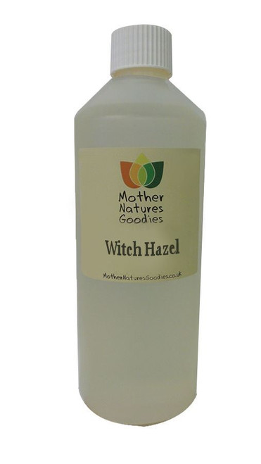 Witch Hazel - With Alcohol - Distilled Hydrosol Astrongent Toner