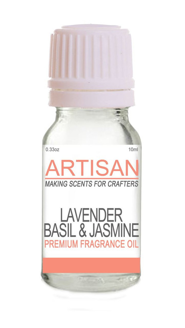 LAVENDER, BASIL & JASMINE FRAGRANCE OIL  for Candles Melts Home Fragrance PotPourri