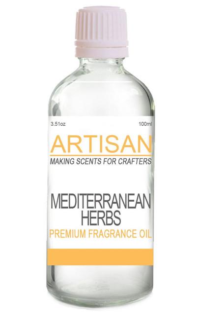 MEDITERRANEAN HERBS FRAGRANCE OIL for Candles, Melts, Home Fragrance & PotPourri