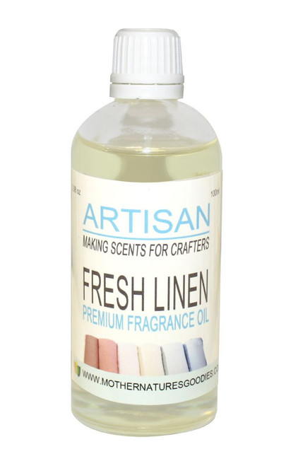 FRESH LINEN FRAGRANCE OIL  for Candles, Melts, Home Fragrance & PotPourri