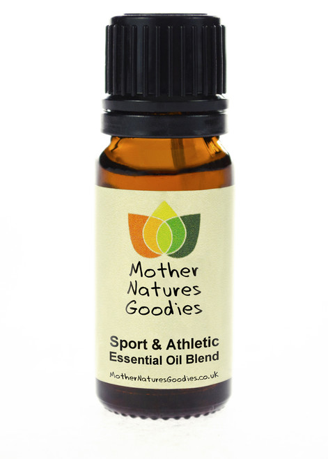 Sports & Athletic Essential Oil Blend Pure Natural Therapeutic Aromatherapy