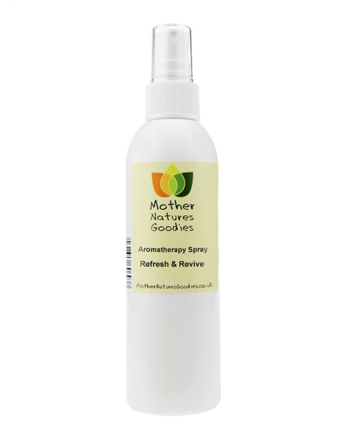REFRESH & REVIVE Aromatherapy Room & Body Spray (Natural Essential Oils) 200ml
