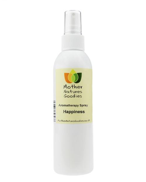 HAPPY Aromatherapy Room & Body Spray (Natural Essential Oils) 200ml