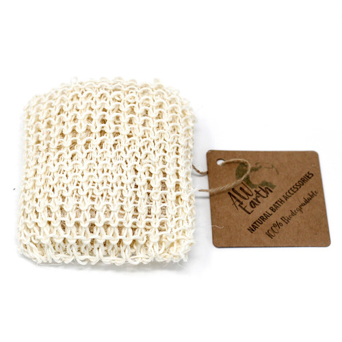 SISAL SPONGE & EXFOLIATING CUSHION