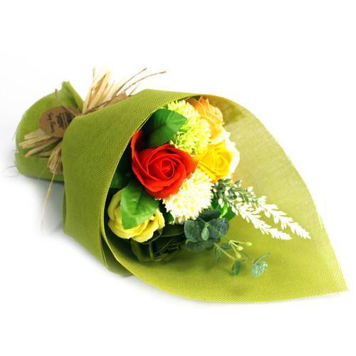 SOAP FLOWER BOUQUETS (GREEN)