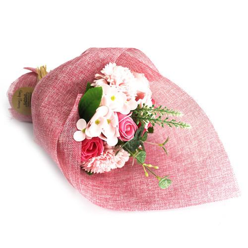 SOAP FLOWER BOUQUETS (PINK)