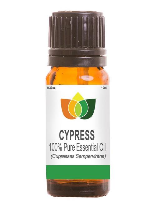 Cypress Essential Oil Pure, Natural, Vegan Cupresses Sempervirens