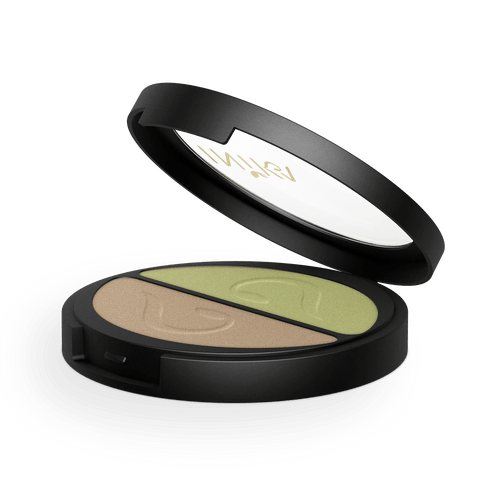 Pressed Mineral Eyeshadow Duo (Khaki Desert) 3.9g