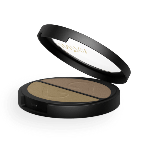 Pressed Mineral Eyeshadow Duo (Gold Oyster) 3.9g