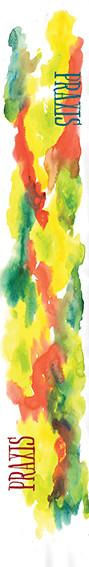 Watercolor ski graphic