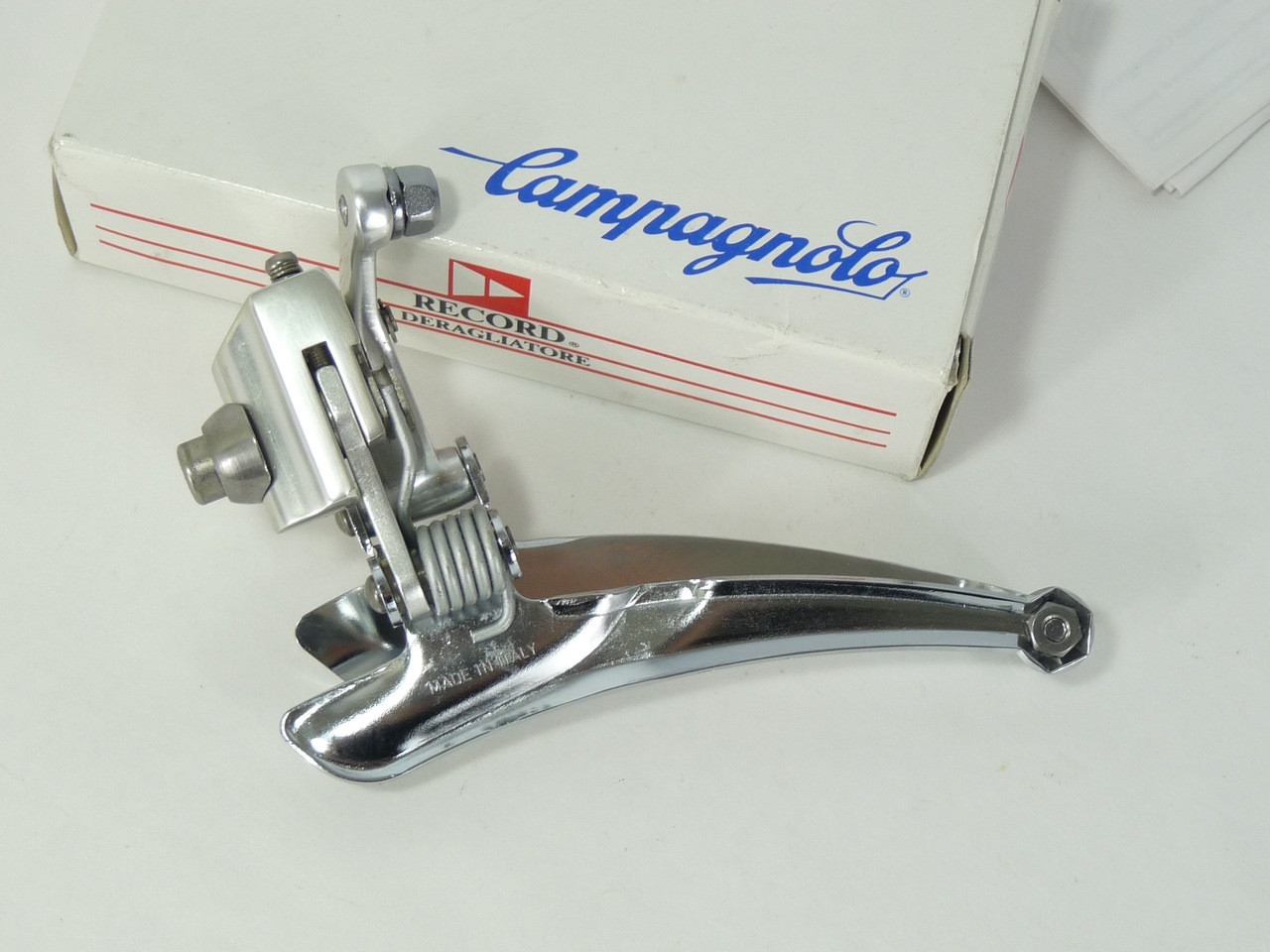 VINTAGE CAMPAGNOLO RECORD TITANIUM SCREW FOR BRAZE-ON FRONT DERAILLEUR NOS