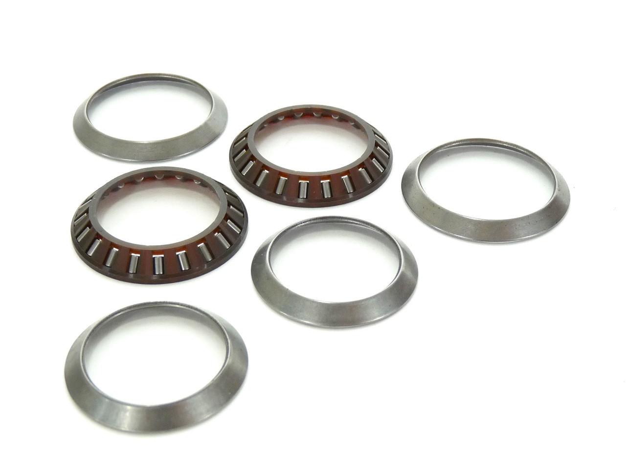 "Galli Miche Stronglight Headset Needle Bearings /& Race Full 6pc  Kit 1/"" NOS"