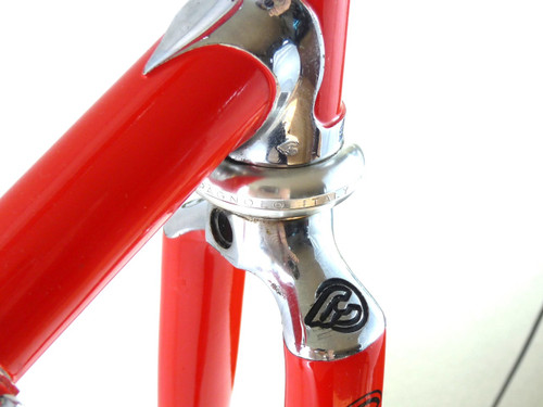 Cinelli Supercorsa Red SPX Big w Super Record Headset & BB