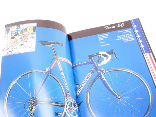 Eddy Merckx Bicycle catalog 2002 NOS