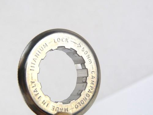 Campagnolo TITANIUM Cassette Lockring