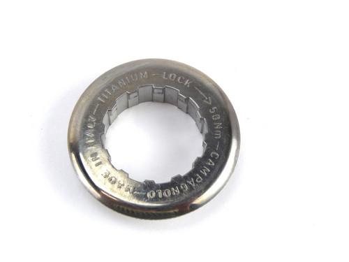 Campagnolo TITANIUM Cassette Lockring 27mm 12-13T NOS
