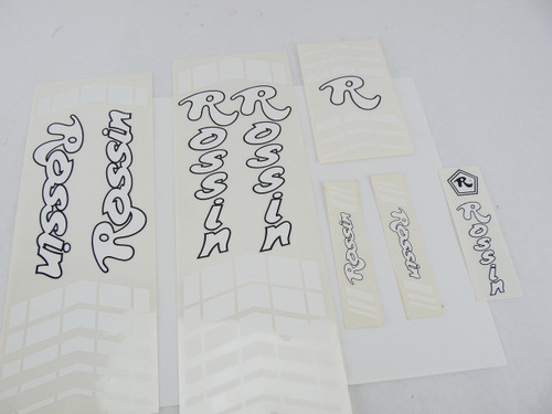 Rossin Bicycle Decals