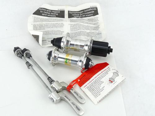 Shimano XT hub set M737