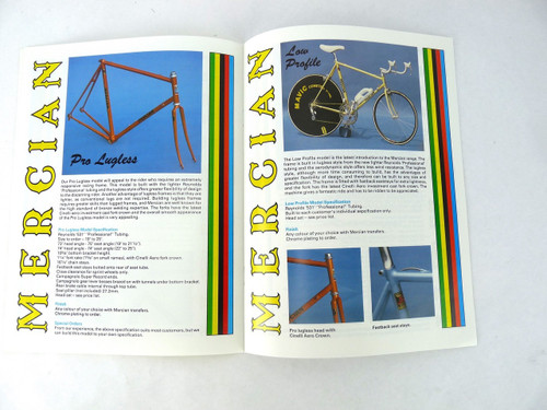 Mercian Bicycle catalog