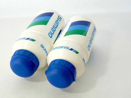 Shimano Water Bottle set Vintage NOS  1 PAIR