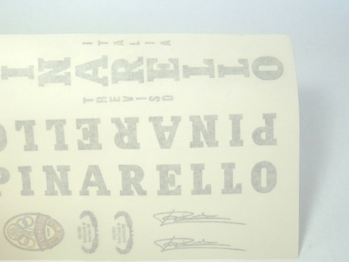 Pinarello treviso Decal Set