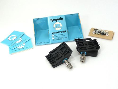 Keywin Clipless pedal set