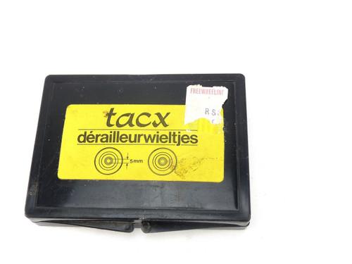 Vintage TACX white Derailleur Pulley Set