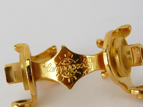 Campagnolo Record Down Tube shifter clamp 24kt GOLD