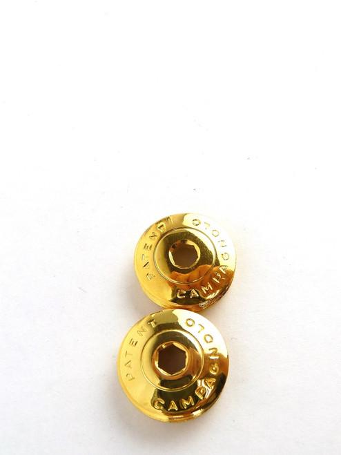Campagnolo Crankset Dust Caps 24kt. GOLD