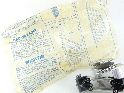 Campagnolo Super Record Rear Derailleur Titanium 1984 NOS