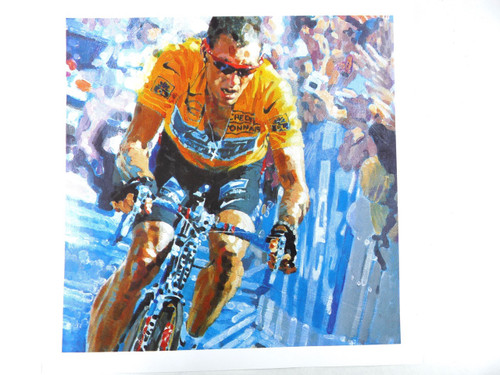 Lance Armstrong Shimano 2002 dealer print