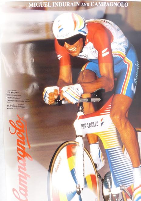 Campagnolo Miguel Indurain Poster