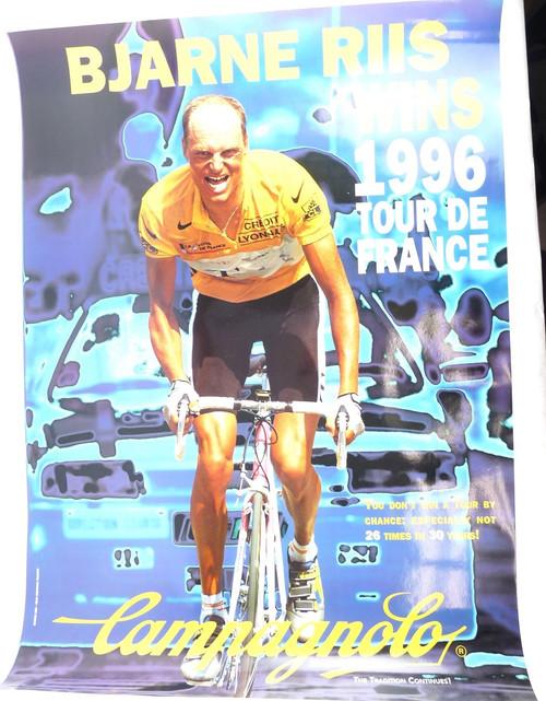 Campagnolo Poster Bjarne Riis
