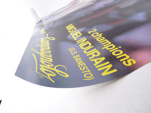 Campagnolo Miguel Indurain Poster Tour de france