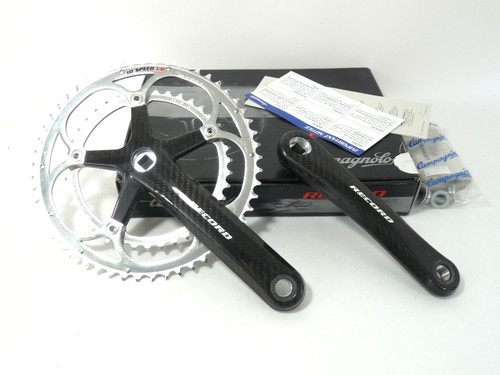 First generation Campagnolo Record Carbon Crankset