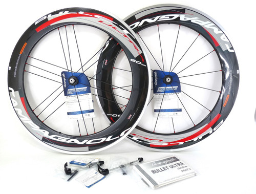 Campagnolo BULLET ULTRA 80mm wheelset Bright 11 speed