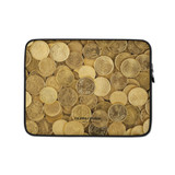Laptop Sleeve | GOLD COINS