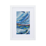 Framed matte paper poster | WATER COLORS