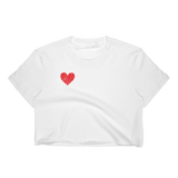 Women's Crop Top | #HEART !