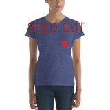 Women's short sleeve t-shirt | RED HEART