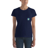 Women's short sleeve t-shirt | BLUE LIPS